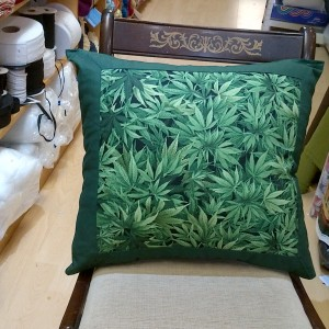 Ganja Fabric Cushion
