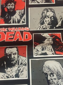'The Walking Dead' Pure Cotton Fabric
