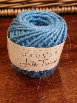 Teal Blue Jute Twine