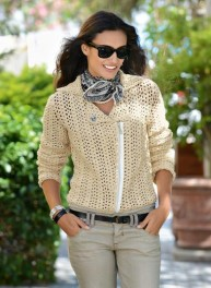 Crochet Biker Jacket - Pattern