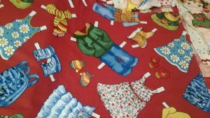 Cut Out Dolls Clothes, Fabric