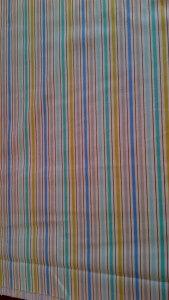 Sharp Cotton Stripe Fabric