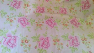 Vintage Tea Roses Quilting Fat Quarter