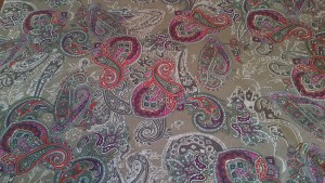 Liberty Lawn Cotton Paisley Fabric