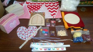 Children's Holiday Craft Box
