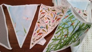 Beautiful Summer Garden Bunting, Large Flags