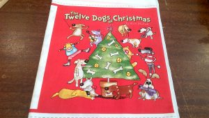 12 Dogs of Christmas Panel