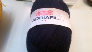 Classic Double Knit Wool Large 200g Adriafil Top Ball Navy
