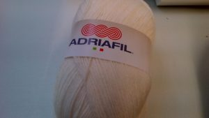 Classic Double Knit Wool Large 200g Adriafil Top Ball Cream