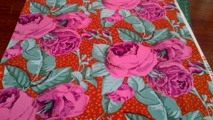 Kaffe Fassett Cotton Fabric 'August Rose'