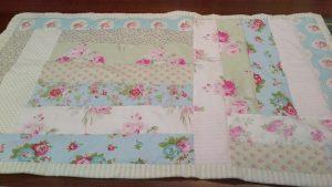 Shabby Chic Easy to Make Lap Quilt Kit