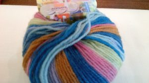 Adriafil KnitCol Self-Striping Merino Wool DK 50g