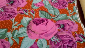 Kaffe Fassett 'August Rose' Cotton Fabric