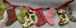 Christmas Stockings Bunting Pattern