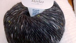 Grey/Black Chunky Luxury Flecked Wool Mix 'Morfeo' by Adriafil
